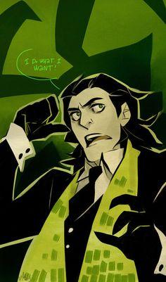 Loki ..I do what I want!