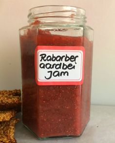 Rabarber-aardbei-jam — Peachy Paleo