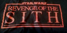 Star Wars Revenge Of The SithT-Shirt XL Raise your Midi-chlorian count! #StarWars #GraphicTee