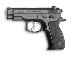 CZ 75 Compact 9 mm Luger, black polycoat