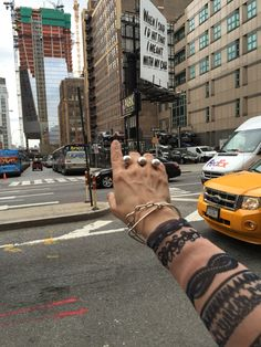 Lamette's Bubbles & Balloons jewelry and Jean Paul Gaultier's tattoo shirt getting inspired in NYC.
