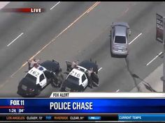 California High Speed Police Chase Crazy Lesbian Through South Central L...