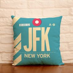 JFK traveling pillow