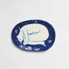 Sleeping Girl Ringdish by LisaJunius on Etsy
