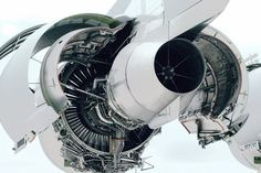 Turbojet engine. Shape reference.