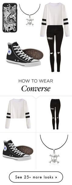 """Untitled #529"" by fairytalestorybook on Polyvore featuring Topshop, Converse, Casetify and Bling Jewelry"
