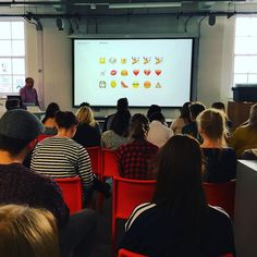 "@johndowling_uk tells @shu_graphics ""I googled 10 of you at random and this is what I found out ..."" #gdc_shu #shugd by gdc_shu"