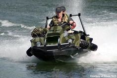 290ecdb4dff 25 Crazy Vehicles The Military Won't Let Us Have- Gibbs Quadski is the  world's first high-speed amphibious vehicle