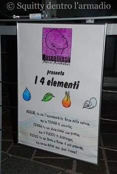 I Quattro Elementi di Nasoallinsù - La magia dei tessuti aerei