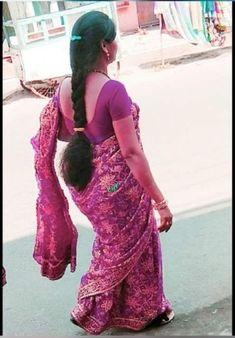 Beautiful Women Over 40, Beautiful Girl Photo, Beautiful Girl Indian, Beautiful Indian Actress, Beautiful Braids, Beautiful Long Hair, Beautiful Saree, Indian Hairstyles, Girl Hairstyles
