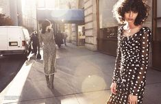 'Uptown Girls' by Glen Luchford for Vogue Paris March 2015 | The Fashionography