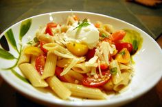 Williams Kitchen - Made with love:  Pasta With No-Cook Tomato Sauce (great choice for summer!)