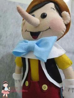 Pinoquio feltro