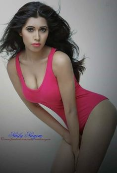 The hot sexy unseen ever hot biggest milky boobs of bd actress nilaya nayem looks so seducing.