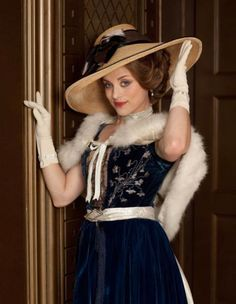 Miss Love-my favorite character on MR. SELFRIDGE.  She is crazy just like me =0