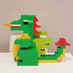 LEGO® Duplo Drache selber bauen - BRICKaddict Bauideen
