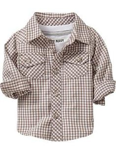 Patterned Shirts for Baby