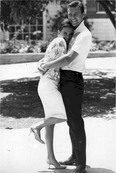 Natalie Wood and Robert Wagner, 1950s...