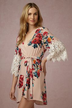 Horticulture Robe from @BHLDN