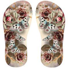 Estampa para chinelo Floral 001449
