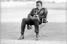 """Your Morning Shot: Sidney Poitier, 1963 """"A person doesn't have to change who he is to become better.""""..."""