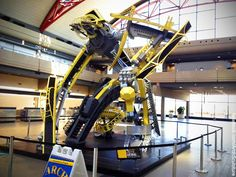 Arch Bridge Transformer at Pittsburgh Airport