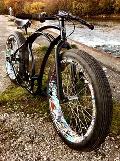 Custom bicycles - love those tires