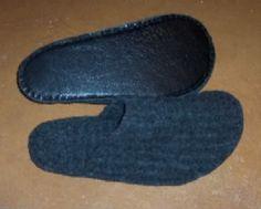 Slippers - w/pattern