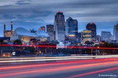 Kansas City Skyline by ericbowers, via Flickr