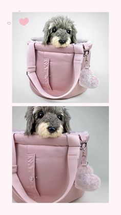 Pink Dog Beds, Cute Dog Beds, Dog Beds For Small Dogs, Small Dog Carrier Purse, Dog Carrier Bag, Princess Dog Bed, Designer Dog Carriers, Pet Carriers, Dog Supplies