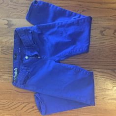 Toothpick royal blue denim Toothpick Royal blue denim size 27 ; 99% cotton 1% spandex J. Crew Jeans Ankle & Cropped