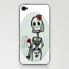 Love and Bones.  by Giuditta Matteucci    PHONE SKIN  $15.00