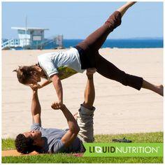 Exercise with a friend today!  Faites de l'exercice avec un ami aujourd'hui!  #workout #fitness #friends #exercise #yoga #wellness #bloodpumping #inshape #healthycouple