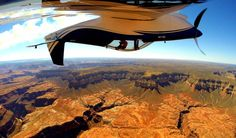 A unique view of the Grand Canyon by Bryon Graves. Capture your ariel adventures by mounting your GoPro camera to any flat surface with the Suction Cup Mount: http://shop.gopro.com/mounts/suction-cup/AUCMT-302.html#/start=1