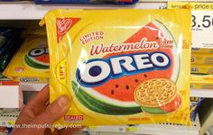 Watermelon Oreo cookies! Meghan- this is us. We must get to the gym so we can try these little babies out! I hope they are good!
