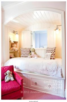 Check out our cute little girls room. Get more decorating ideas at http://www.CreativeBabyBedding.com