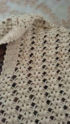Caminó de flor Crochet Stitches Free, Lace Knitting Patterns, Crochet Lace Edging, Crochet Art, Love Crochet, Crochet Cardigan, Crochet Scarves, Diy Necklace Patterns, Crochet Waffle Stitch
