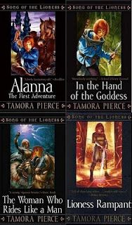 Song of the Lioness Series, Tamora Pierce