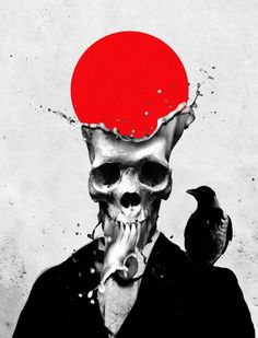 Ali Gulec Splash Skull