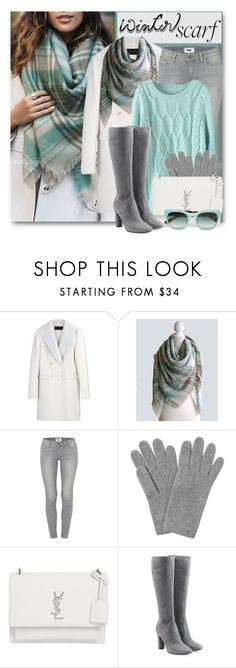 """""""Winter Scarf"""" by brendariley-1 ❤ liked on Polyvore featuring Calvin Klein Collection, Paige Denim, L.K.Bennett, Yves Saint Laurent, L'Autre Chose, Erdem, Winter and scarf"""