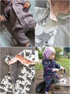 """Ebook Baby Overall """"FrleinAllie"""" Größe 50 - 92 von FrleinFaden auf DaWanda.com"""
