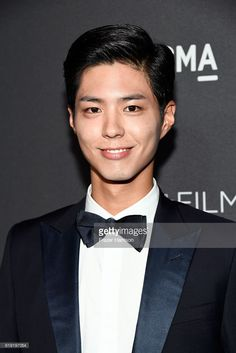 Actor Park Bo Gum attends the 2016 LACMA Art + Film Gala honoring Robert Irwin and Kathryn Bigelow presented by Gucci at LACMA on October 29, 2016 in Los Angeles, California.