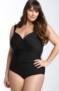 735c714fe84c1 Spanx Swimwear, Curvy Swimwear, Plus Size Swimsuits, Plus Size Model, Baden,