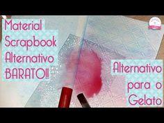 Material Scrapbook Alternativo, GELATO FABER CASTELL - Scrapbook by Tamy