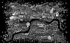 La mappa letteraria di Londra - Regno Unito - The Post Internazionale