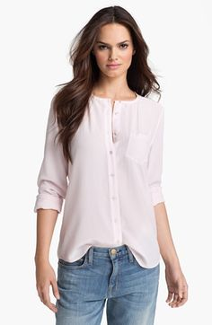 5ed69b3e575250 Equipment  Julian  Silk Shirt available at  Nordstrom Lilac