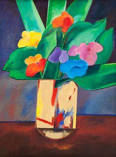Aldemir Martins - Vaso de Flores