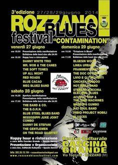Oggi 28/6/2014 dalle 18.00 per esporre durante il Rozzano Blues Festival