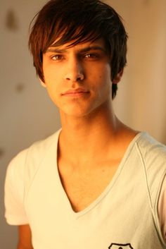 "Luke Pasqualino... Plays my favorite character ""Freddie"" on Skins... Also British...:)"