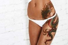 Top 10 Hip Tattoo Designs | StyleCraze